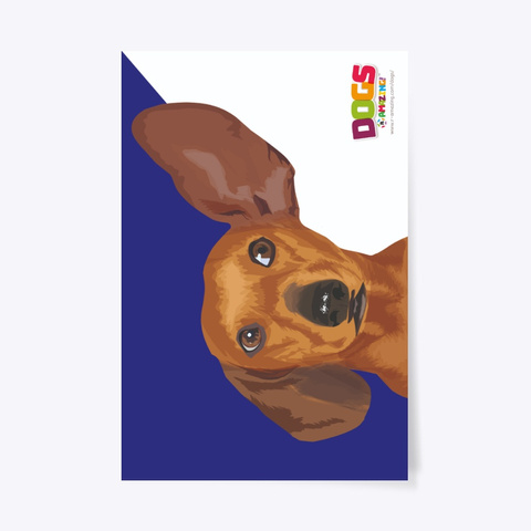 Hearing Assist Dog – 'R' Amazing Poster Standard T-Shirt Front