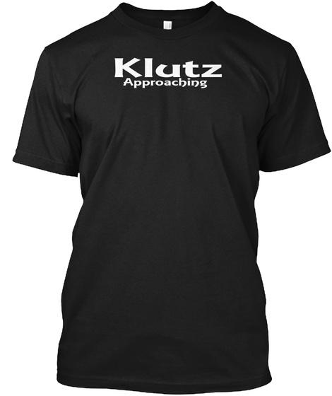 Klutz Approaching T Shirt Black T-Shirt Front