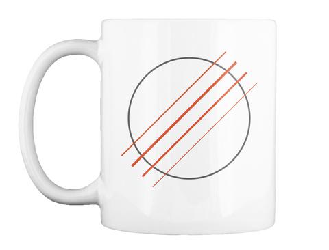 Ukulele Sound Hole Mug White Mug Front