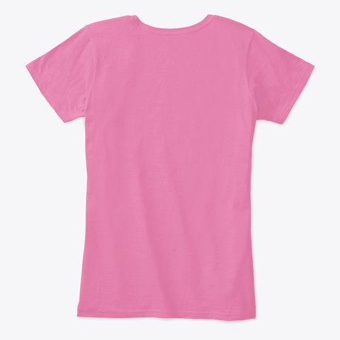 Emily Spelled Backwards True Pink T-Shirt Back