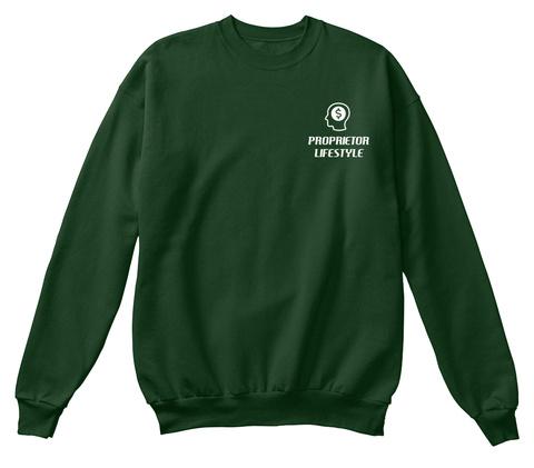 Proprietor Lifestyle Deep Forest  Sweatshirt Front