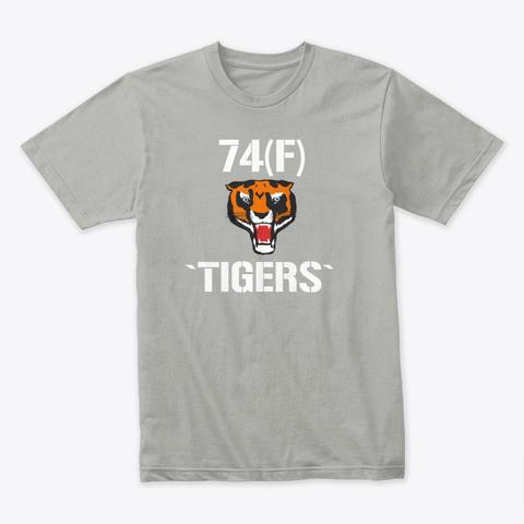 74(F) `tigers` T Shirt Light Grey T-Shirt Front