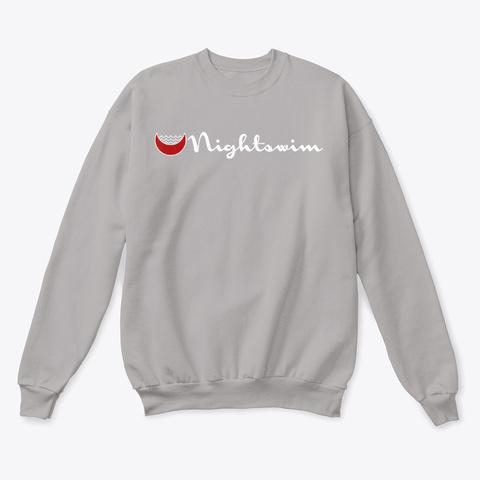 Night Swim Strong Light Steel  T-Shirt Front