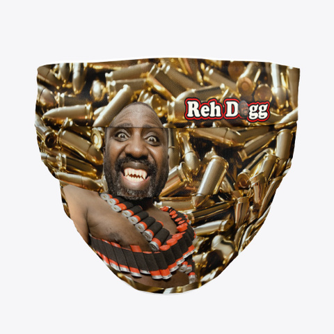 Reh Dogg Bullet Face Mask Standard T-Shirt Front