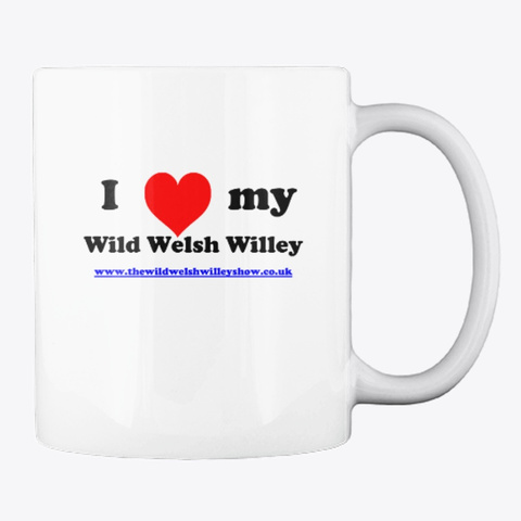 The Official Wild Mug White T-Shirt Back