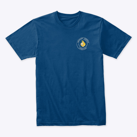 New Simmer Down! Cool Blue T-Shirt Front