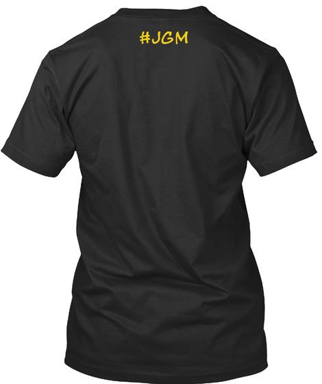 #Jgm Black T-Shirt Back