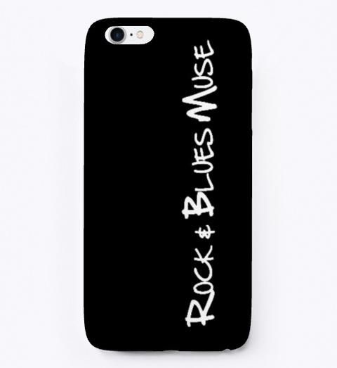 I Phone Case With Rbm Logo Black T-Shirt Front