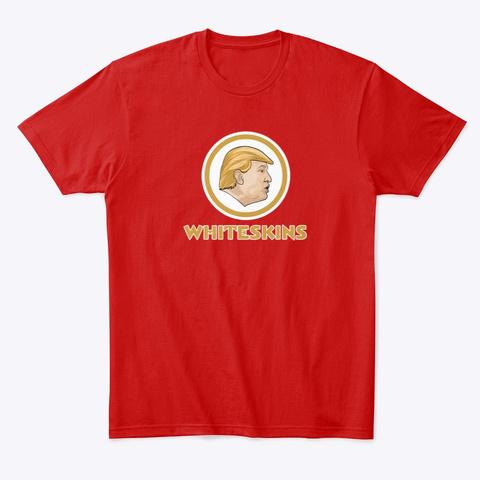 Whiteskins Classic Red T-Shirt Front