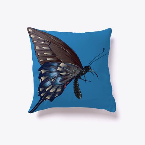 Butterfly Effect Denim Blue T-Shirt Front
