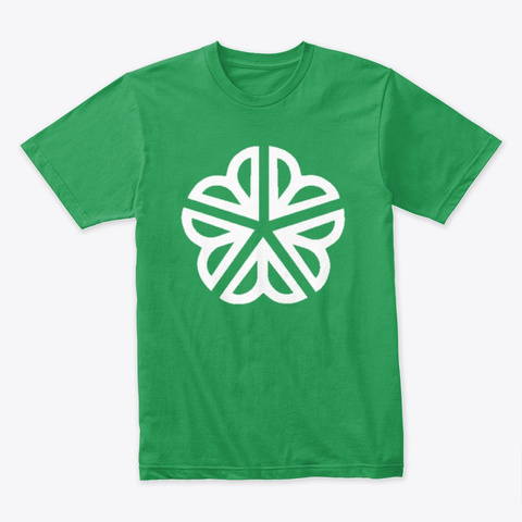 Rochester Five Leaf Clover Kelly Green T-Shirt Front