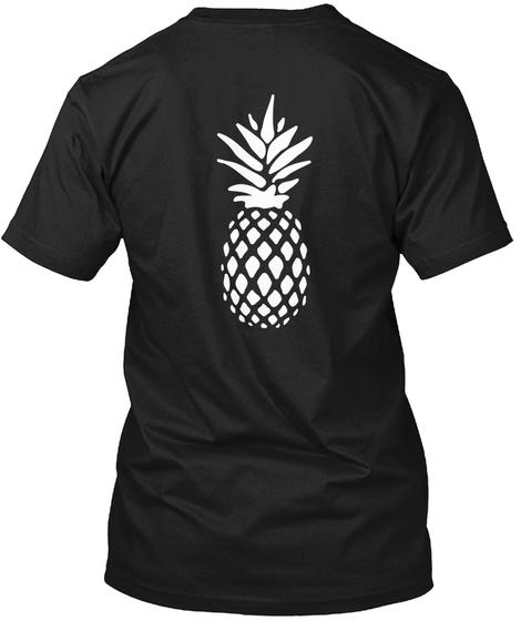 Gus Nicknames Shirt (Psych) Black T-Shirt Back