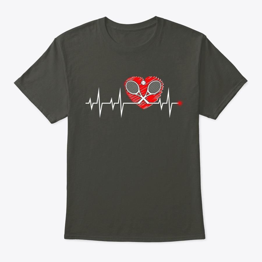My Tennis Heart Beat Unisex Tshirt