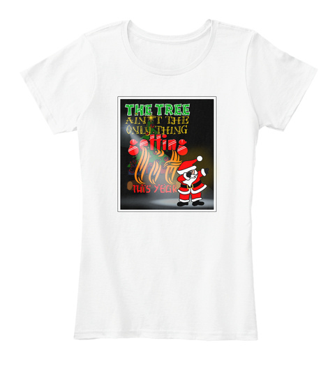 Getting Lit White T-Shirt Front