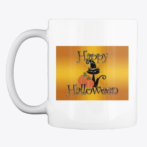 Halloween Mugs White Camiseta Front