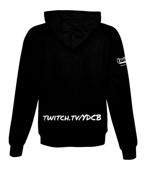 Twitch.Tv/Ydcb Black Sweatshirt Back