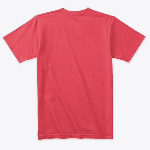 Meditation Is My Favourite Pastime Vintage Red T-Shirt Back