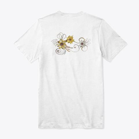 The Art White T-Shirt Back