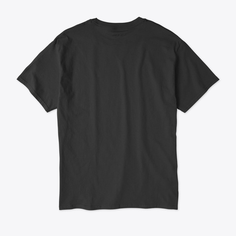Champion Genius Verified Black T-Shirt Back