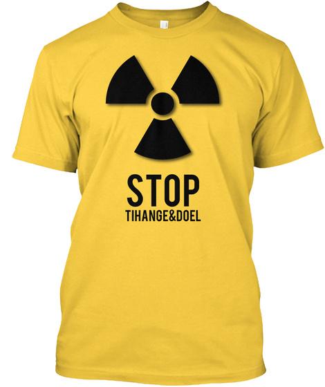 Stop Tihange & Doel Daisy T-Shirt Front