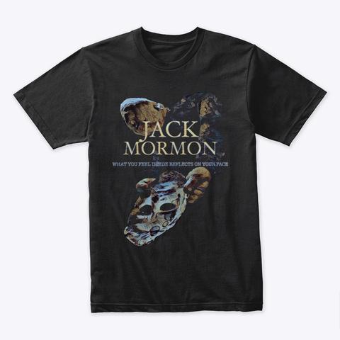 Jack Mormon Dummy T Shirt Black T-Shirt Front