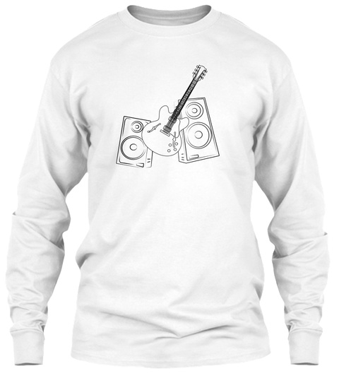 Music Tee White T-Shirt Front
