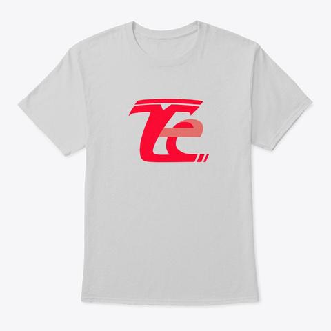 Tesla Evolved Light Steel T-Shirt Front