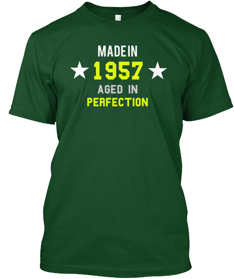 1957 man shirt Unisex Tshirt