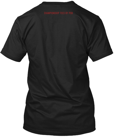 Boxing Decisions Black T-Shirt Back