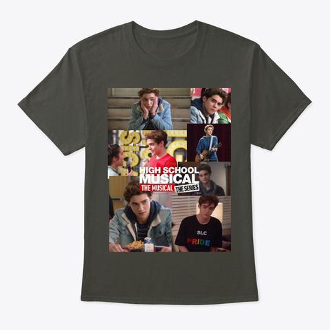 Ricky Smoke Gray T-Shirt Front