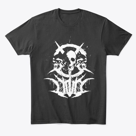 Mark Of The Void Black T-Shirt Front