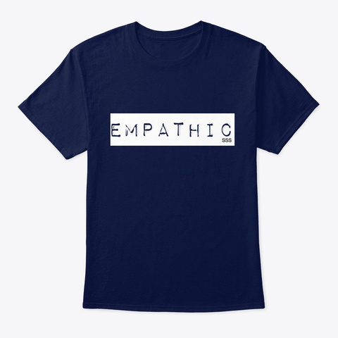 Empathic Swag Navy T-Shirt Front