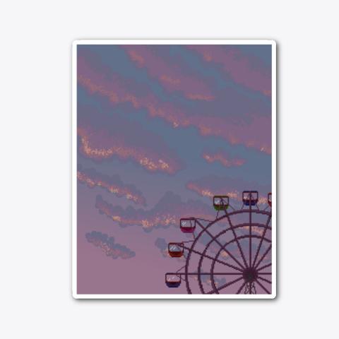 #126   Sunset Ferris Whee; Standard T-Shirt Front