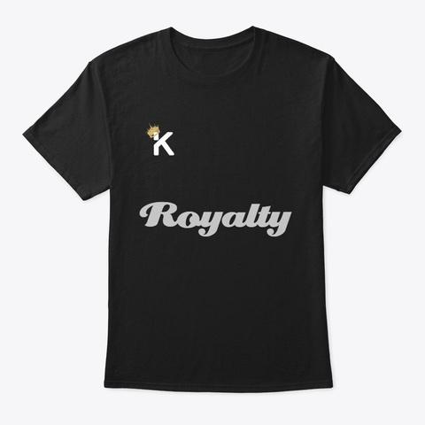 Kf Royalty Line Black T-Shirt Front