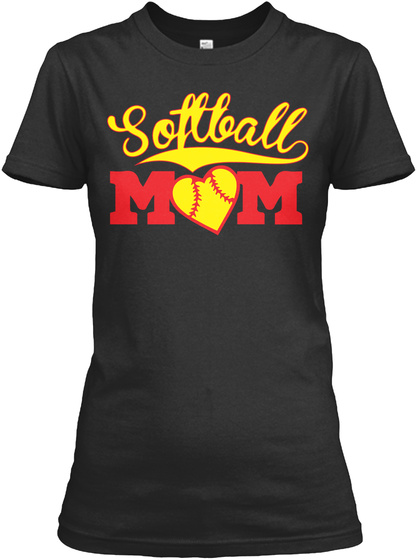 Softball Mom Lover Tshirt Front