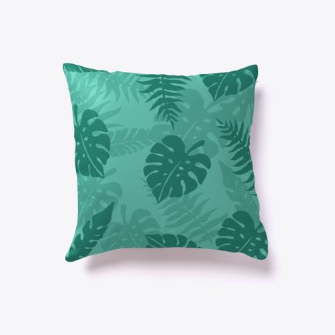 Tropical Summer Pattern Pillow Standard T-Shirt Back