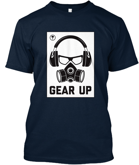 Gear Up New Navy T-Shirt Front