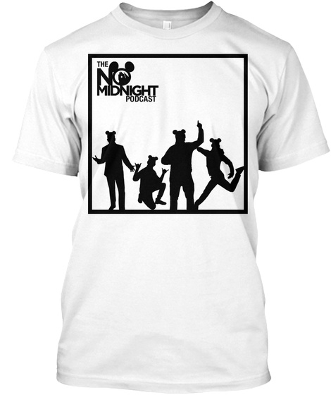 Cast Silhouette White T-Shirt Front