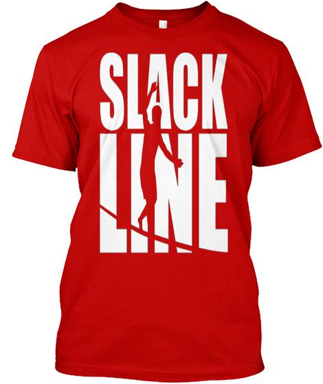 Slacklinee T-Shirt Front