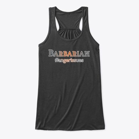 Barbarian Hashtag Tee Dark Grey Heather T-Shirt Front