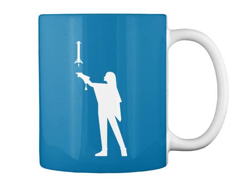Falconer 2 Woman Mug [Int] #Sfsf Royal Blue Mug Back