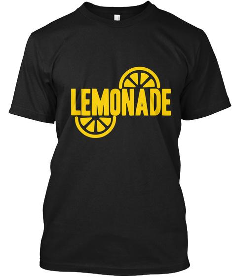 Lemonade Black T-Shirt Front