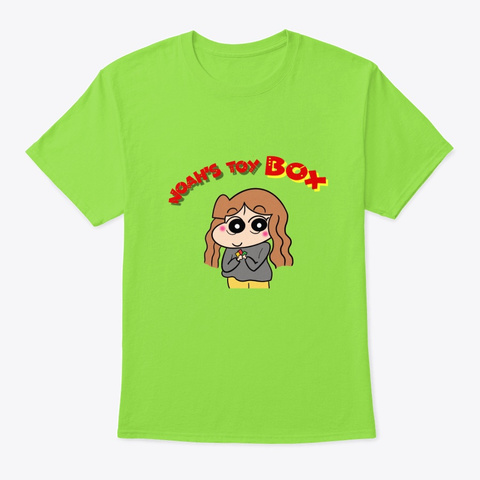 Noah's Toy Box  Lime T-Shirt Front