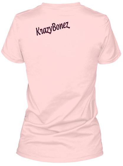 Krazy Bonez Light Pink T-Shirt Back