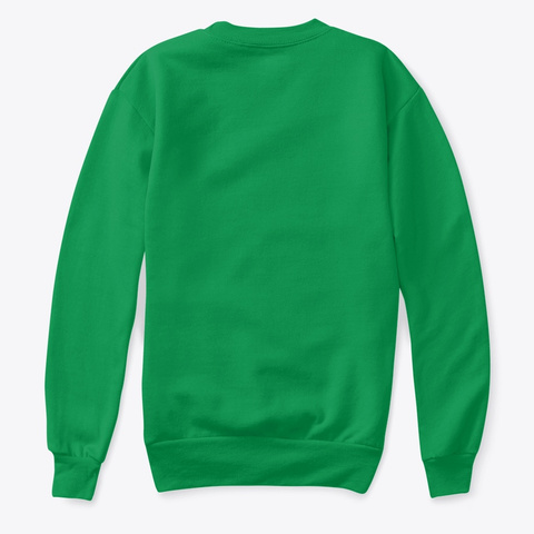 """Zbros"" Kid Sweater Kelly Green  T-Shirt Back"