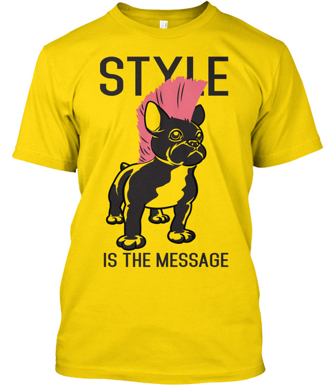Style Is The Massage Daisy T-Shirt Front