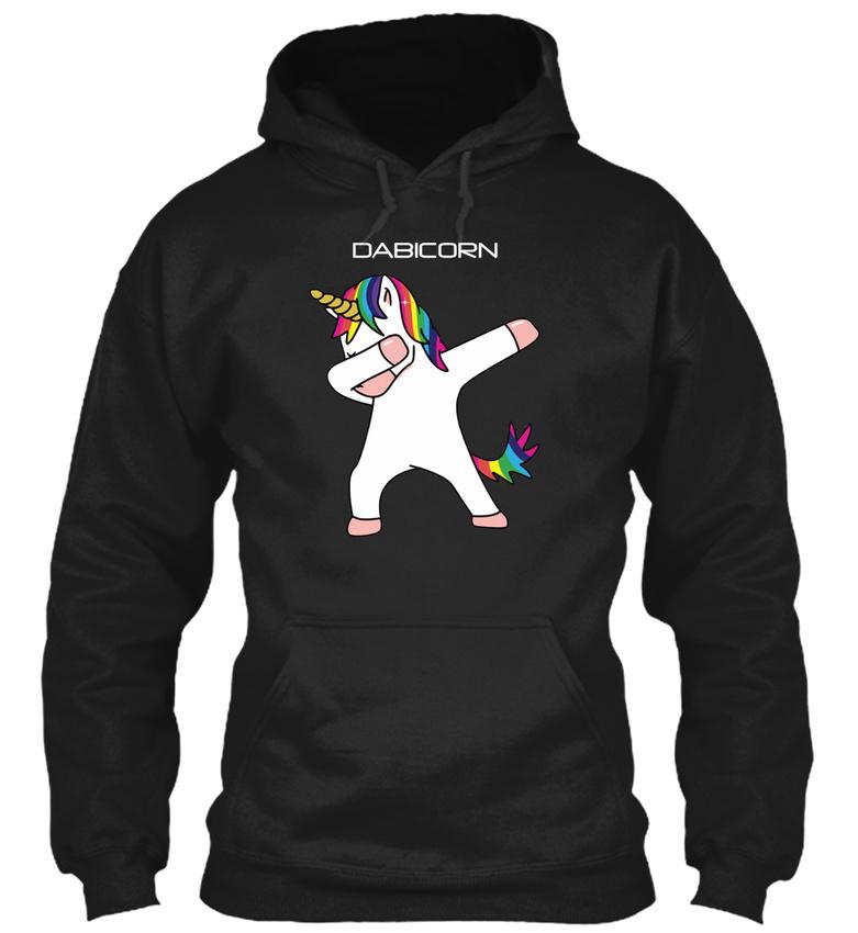 Fun Unicorn Cute Dabbing Gildan Hoodie Sweatshirt Gildan Hoodie Sweatshirt