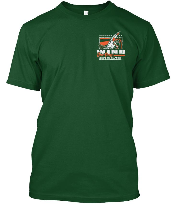 Windsurf-Hanes-Tagless-Tee-T-Shirt thumbnail 6