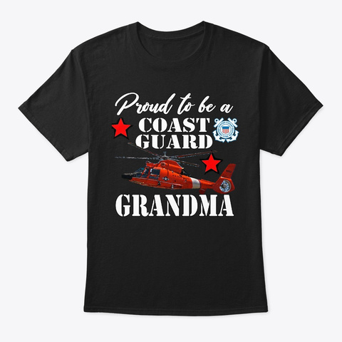 Proud To Be A Cg Grandma 2nd Edition. Black T-Shirt Front