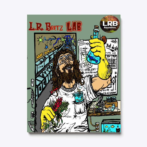 Canvas Art L.R.B Aquatics Mad Scientist  Standard T-Shirt Front